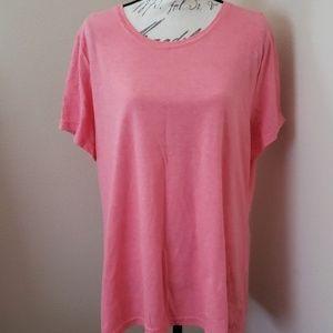 Faded Glory pink tshirt